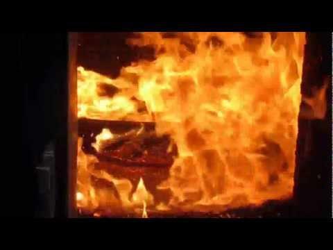 Burning Wood Chips