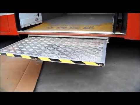 Xinder EWR-L Electric wheelchair ramp