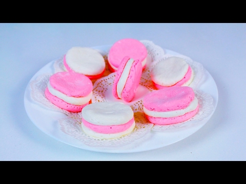 Diy Macarons from Marshmallows | Making Edible Play Dough