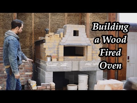 Building a Wood Fired Oven