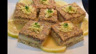 طاجين الجبن ب3 طبقات  يحمر الوجه مع العائلة والضيوف بنة رهييييبة