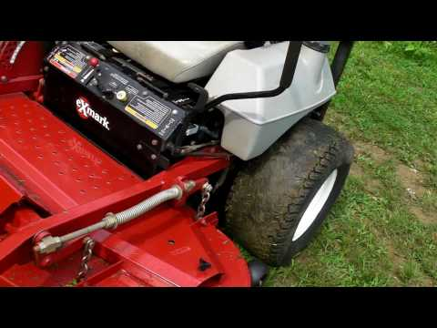 Exmark zero turn commercial lawn mower FOR SALE