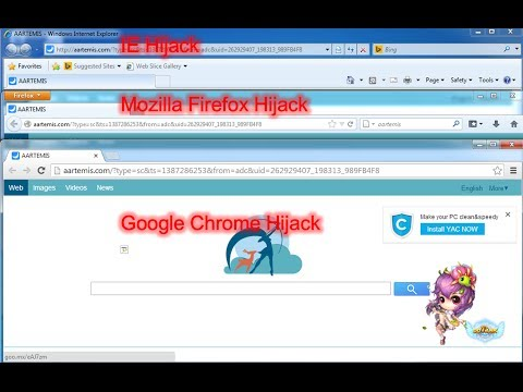 Delete Aartemis.com Virus Removal guide (Manual and Automatic)