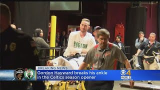Hayward Breaks Ankle In Celtics Season Opener