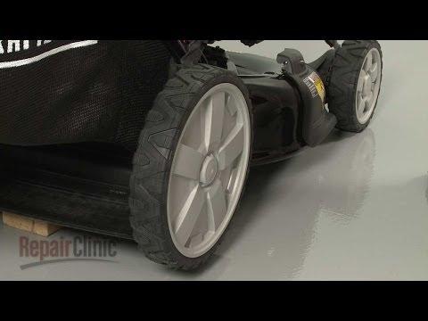 Craftsman Lawn Mower Rear Wheel Replacement #634-05062