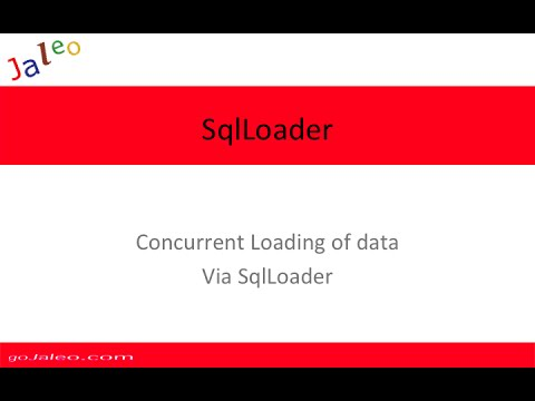 Oracle SQLLoader via the Concurrent Manager