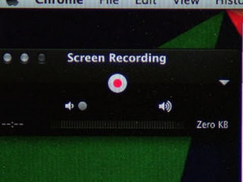 CNET How To - Record your computer's screen with audio on a Mac