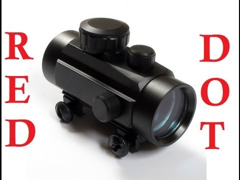 *** HOW TO CALIBRATE YOUR RED DOT SIGHT *** EASY Red Dot Sight Calibration ***