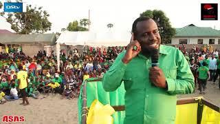 Vijana wa Magufuli Sasa wameiva Cheki wanavyopiga maneno kisomi.