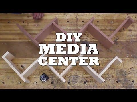 How to Build a COOL MEDIA SHELF
