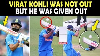 Virat Kohli was NOT OUT in India vs Pakistan Match | World Cup 2019 | Must Watch Video