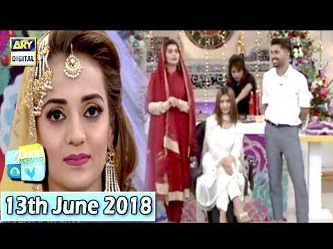 Good Morning Pakistan - Makeup Artist Wajid Khan - 13th June 2018 - ARY Digital Show