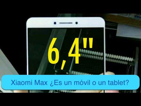 Xiaomi Max ¿Es un móvil o un tablet?
