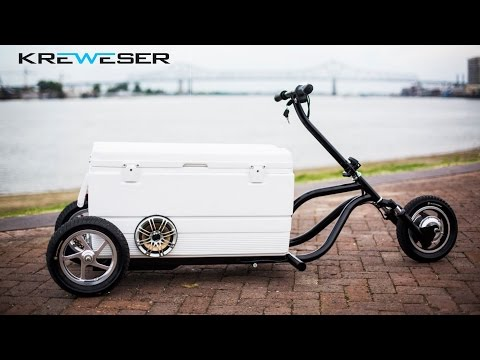 Kreweser: Electric Motorized Cooler