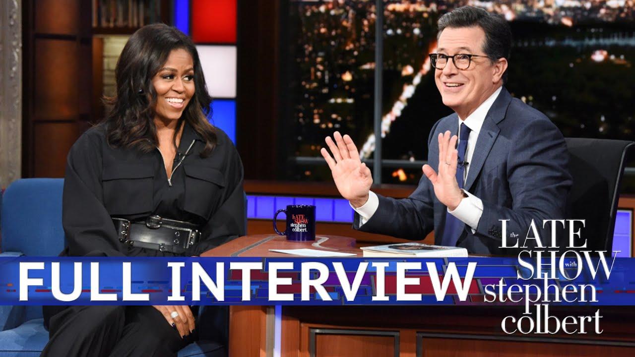 Full Interview: Michelle Obama Talks To Stephen Colbert