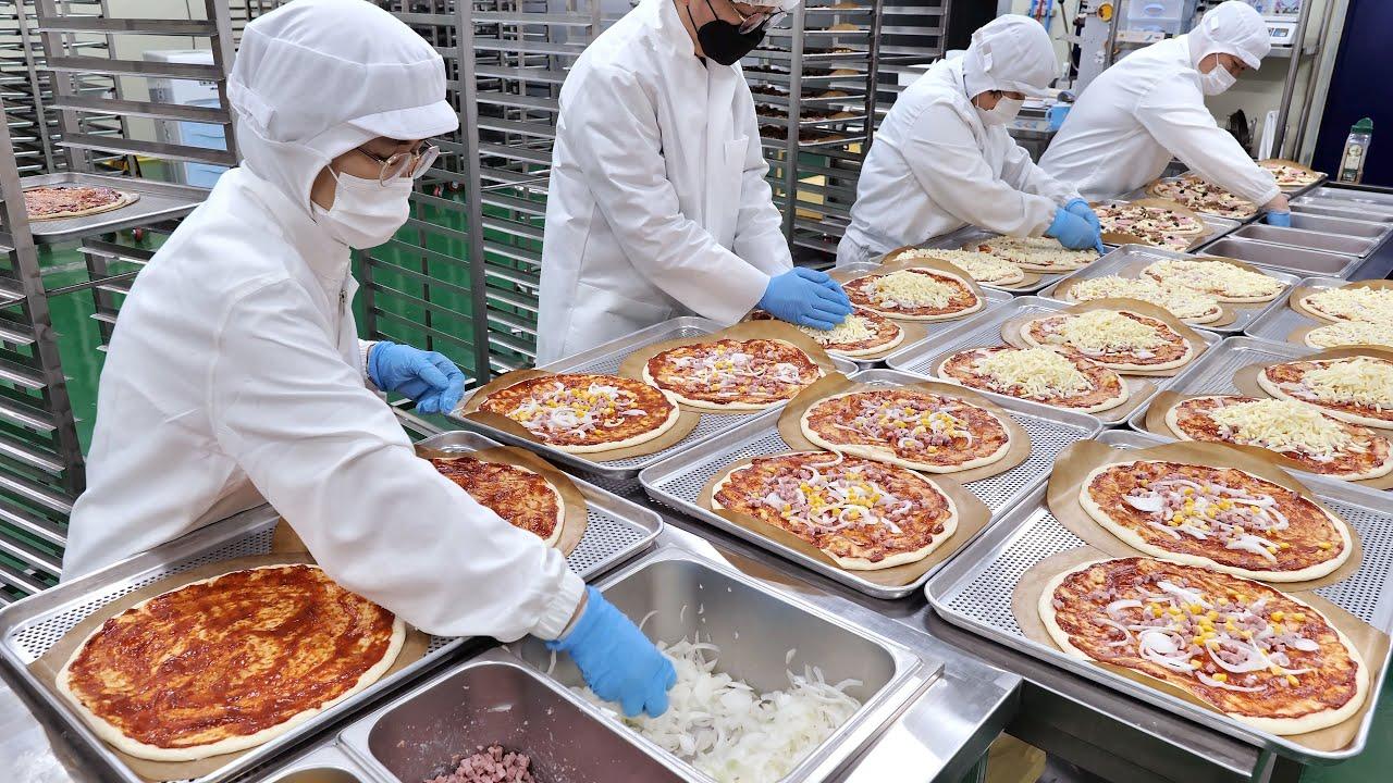 역대급 위생 ! 피자, 돈까스, 옛날과자, 김치 대량생산 현장   Hygienic ! Korean Mass Production Plant   Korean food