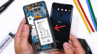 LG G8 Teardown - Dont Remove The Battery?!