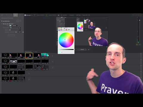 Wirecast Chroma Key and Green Screen Shot Setup Tutorial!