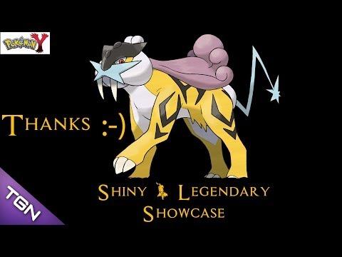 Thanks for the Raikou Mike - Pokémon Shiny & Legendary Showcase # 1