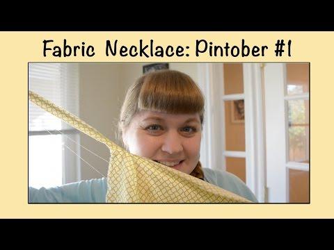 DIY Baby Friendly Necklace - Pintober