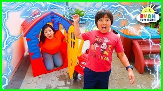 Download What Causes Lightning and Thunder??? | Educational for kids with Ryan ToysReview Video