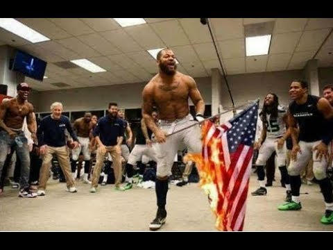 Did an NFL Player Burn an American Flag in a Locker Room?