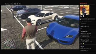 GTA 5 Online   Luxury Carmeet to celebrate the Pfister Neon