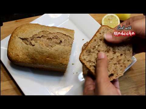 LEMON BREAD RECIPE🍋🍞 -Whole Wheat Lemon Walnut Bread Recipe by Cook with Madeeha