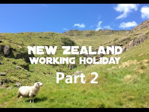 New Zealand Working Holiday Application - PART 2 (English)