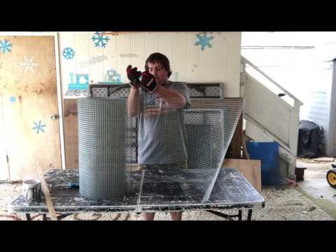 Hot to build a quail cage : Cheap, fast and easy