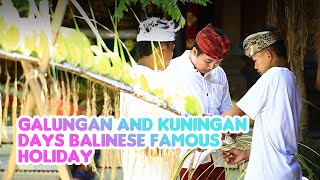 GALUNGAN & KUNINGAN DAYS - THE VICTORY OF DHARMA OVER ADHARMA #BaliGoLiveCulture