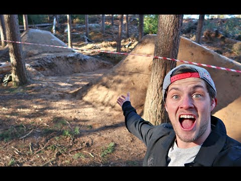 CRAZY NEW MTB FREERIDE LINE!!