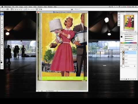How to Make a Basic Collage in Photoshop CS3