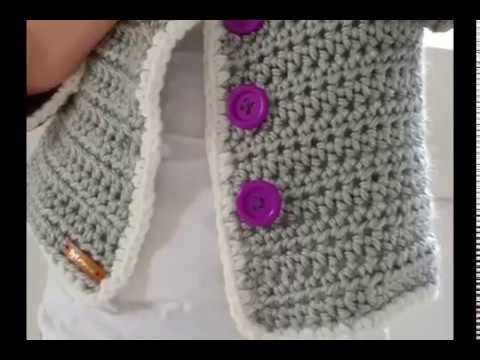 Fancy Jacket. Crochet tutorial