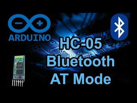 HC-05 AT Mode - Quick Easy Arduino Bluetooth Module Setup - Code & Schematic Wiring Diagram