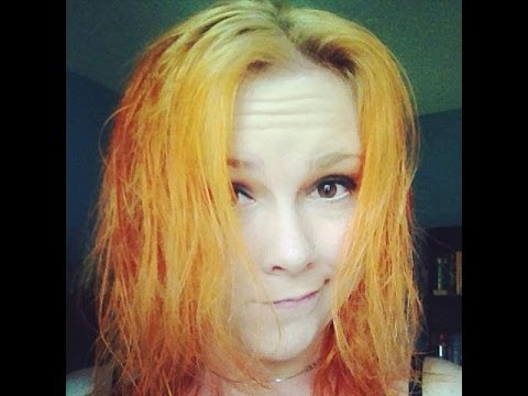 Red to Blonde- ORANGE DISASTER