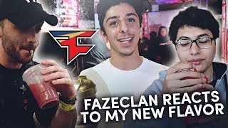FAZE REACTS TO MY NEW GFUEL FLAVOR!