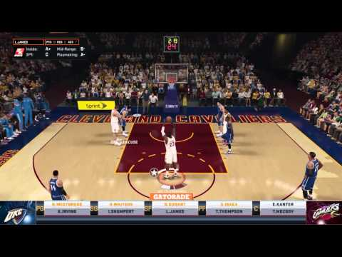 NBA 2K15 Online Ranked Match Vs DNICE315CUSE, Kyrie Irving Green Light City