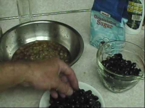 How to make grape jam Part 1