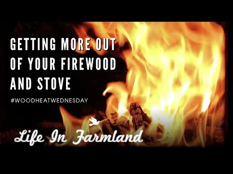 5 Tips For Successful First Winter Heating With Firewood - WHW - EP:11