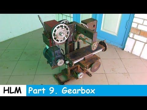 Homemade milling machine part 9