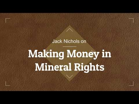Making Money in Mineral Rights