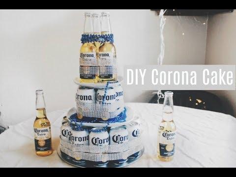 DIY BEER CAKE