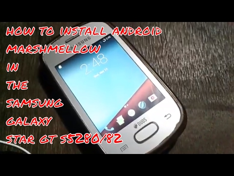 [marshmallow 6.0.1]How to install resurrection remix rom in the  Samsung Galaxy star  S5282