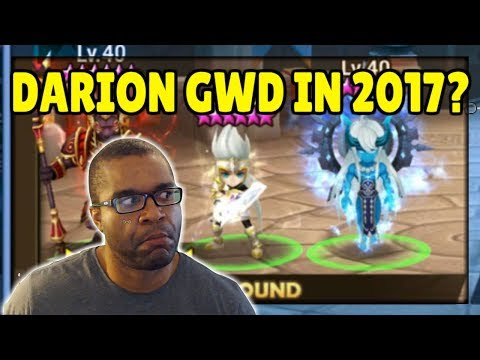 SUMMONERS WAR: Darion Guild War Defense from Legend Ranked Guild! I better not fail!