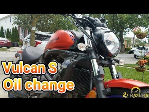 2015-2017 Kawasaki Vulcan S Oil Change