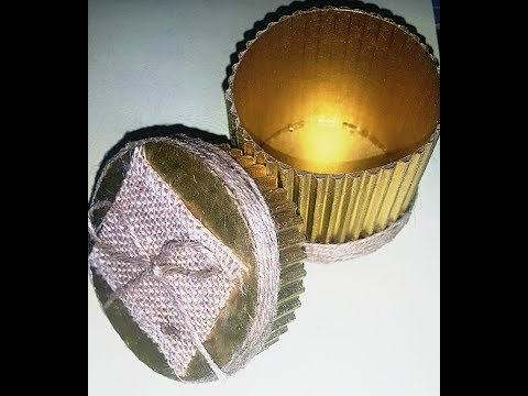 how to make a gift box with cardboard / DIY Easy Crafts /wedding favour boxes