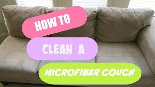 Cleaning My Microfiber Couch Does Alcohol Work