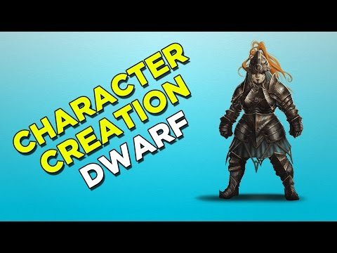 Divinity: Original Sin 2 - Dwarf Character Creation