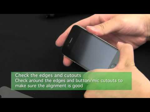 Green Onions Supply Tutorial for iPhone 4S Screen Protectors